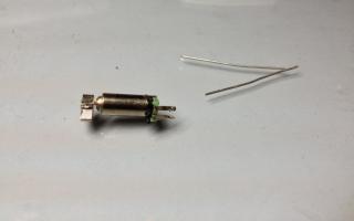 Motor de vibrador de celular